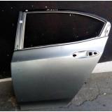 Porta Traseira Esquerda Do Honda City 2009 2010 11 12 13 14