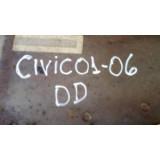 Caixa De Roda + Longarina Honda Civic 2001 02 03 04 05 06 Dd
